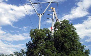Mantenimiento y construcción de líneas eléctricas