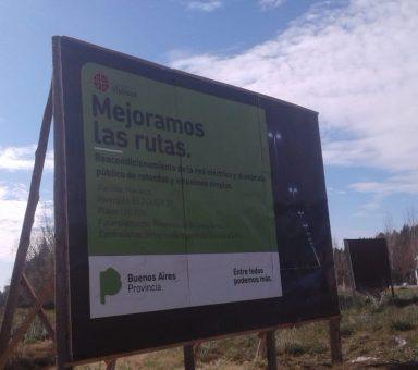 """Iluminación accesos de la ciudad de Navarro """"vialidad"""""""